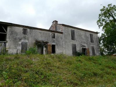 En bord de Garonne ancienne ferme