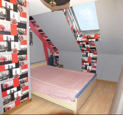 CIEL - Maison de campagne - 134 m² habitables - 6 pièces - 4 chambres - terrain de 1520 m²