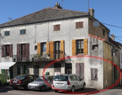 Verdun Sur le Doubs - appartement de plain-pied - 45 m² - T2 - à rénover intégralement