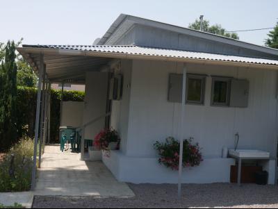 BRAGNY SUR SAONE - Maisonnette sur terrain de loisir - 90 m de la Saône - terrain de 345 m²