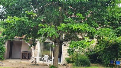 Entre Beaune et Chalon Jolie proprièté en pierre de taille située en bord de Saône ( Gergy)