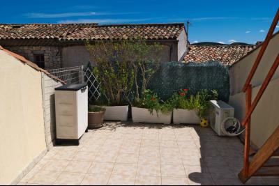 Gréoux les bains - Maison de Village - Terrasse - Garage