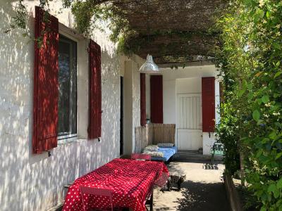 Vue: terrasse, MAISON T4 + STUDIO sur JARDIN DE 538 M²