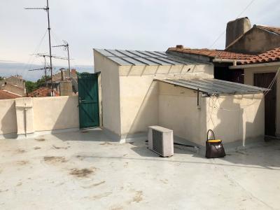 Vue: terrasse , APPARTEMENT ART-DECO, AVIGNON INTRA-MUROS T3, TERRASSE et CAVE