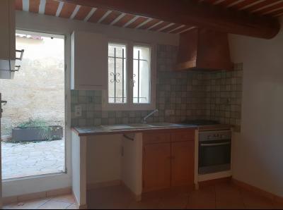 Maison de village R+1 a louer de 70m2 avec terrasse privative intra-muros