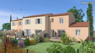 Villa neuve T4 de 80m² avec jardin et 2 parkings