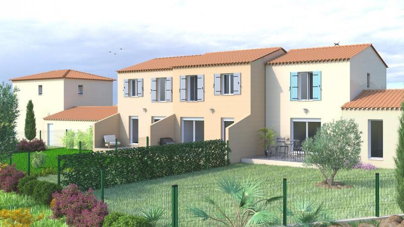 Villa neuve avec jardin et 2 parkings