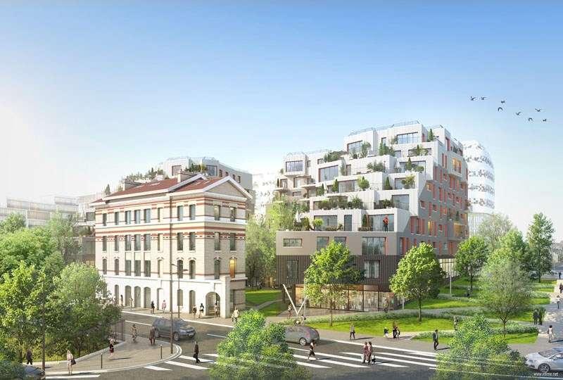 vente paris 17 appartement neuf bbc magnifique f3 avec terrasse investisseur immobilier. Black Bedroom Furniture Sets. Home Design Ideas