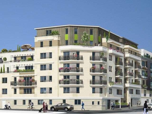 Vente appartement f2 neuf suresnes proche paris for Appartement f2 neuf