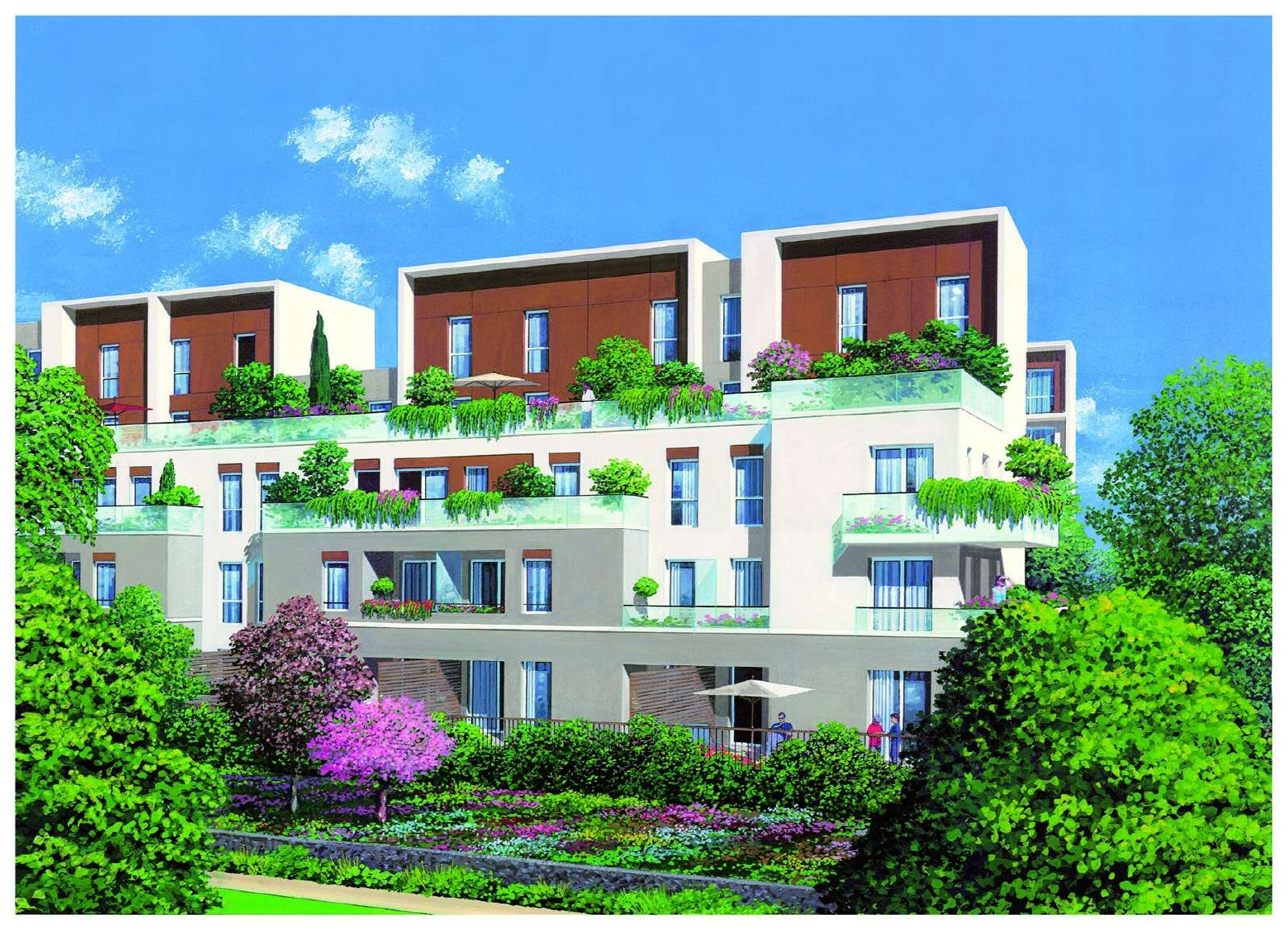 Vente appartement t3 neuf cachan loi scellier ile de for Achat appartement atypique ile de france