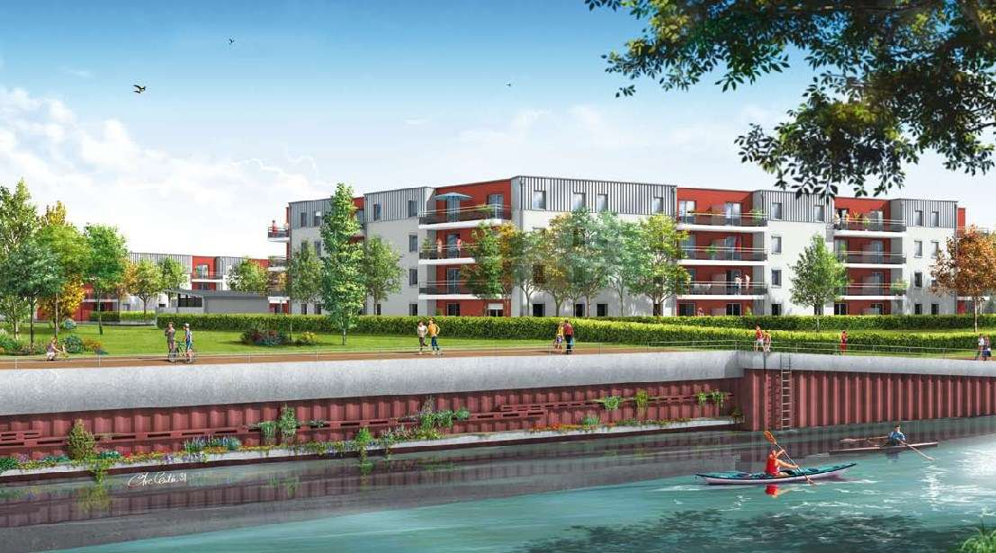 Vente appartement neuf t3 scellier bbc le gayant douai for Appartement t3 neuf