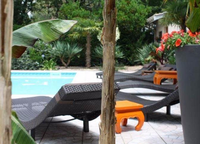 Location maison lege cap ferret villa avec piscine pour 6 for Maison a louer cap ferret avec piscine