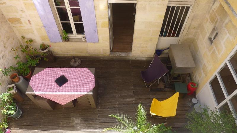 Un immeuble avec terrasse et garage au coeur des chartrons - Terrasse et jardin immobilier vincennes bordeaux ...