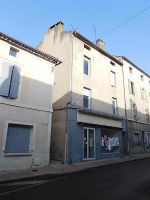 Immeuble avec local, 2 appartement et combles - Centre CAHORS