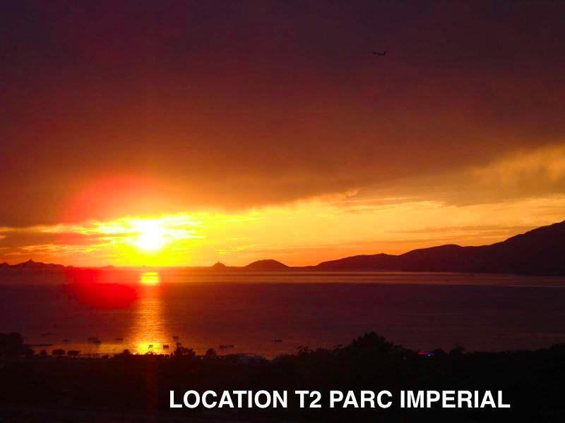 Location AJACCIO,GRAND T2 VUE MER RESIDENCE PARC IMPERIAL