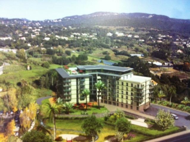 Ajaccio rocade investissez dans residence services for Location garage ajaccio