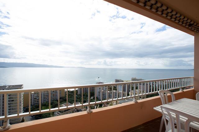 Vente AJACCIO, T3 avec garage Residence des îles avec vue mer Imprenable