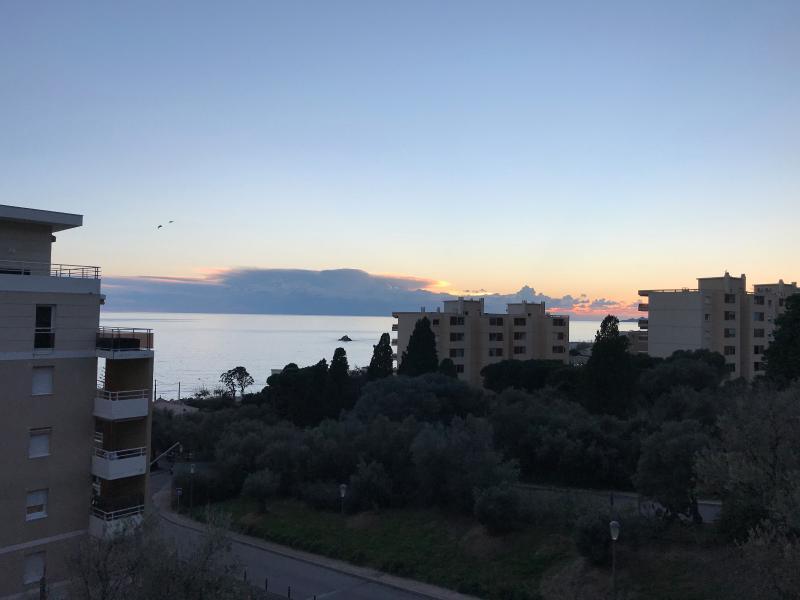 Vente Ajaccio, T4 avec vue mer, route des Sanguinaires