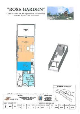 T1-41,42m2-COLLINE CAMELIAS-VUE OCEAN, Agence Immobilière DEFINA PATRIMOINE