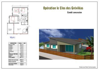 2017-MAISON 3 CHAMBRES PLEIN PIED-JARDIN 300M2-PARKING, Agence Immobilière DEFINA PATRIMOINE