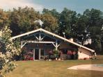 Vente Propriété comprenant maison landaise avec piscine airial appartements boxe à chevaux 800m2