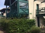 Vente Plage T2 cabine 22 m2 terrasse rez-de-chaussée