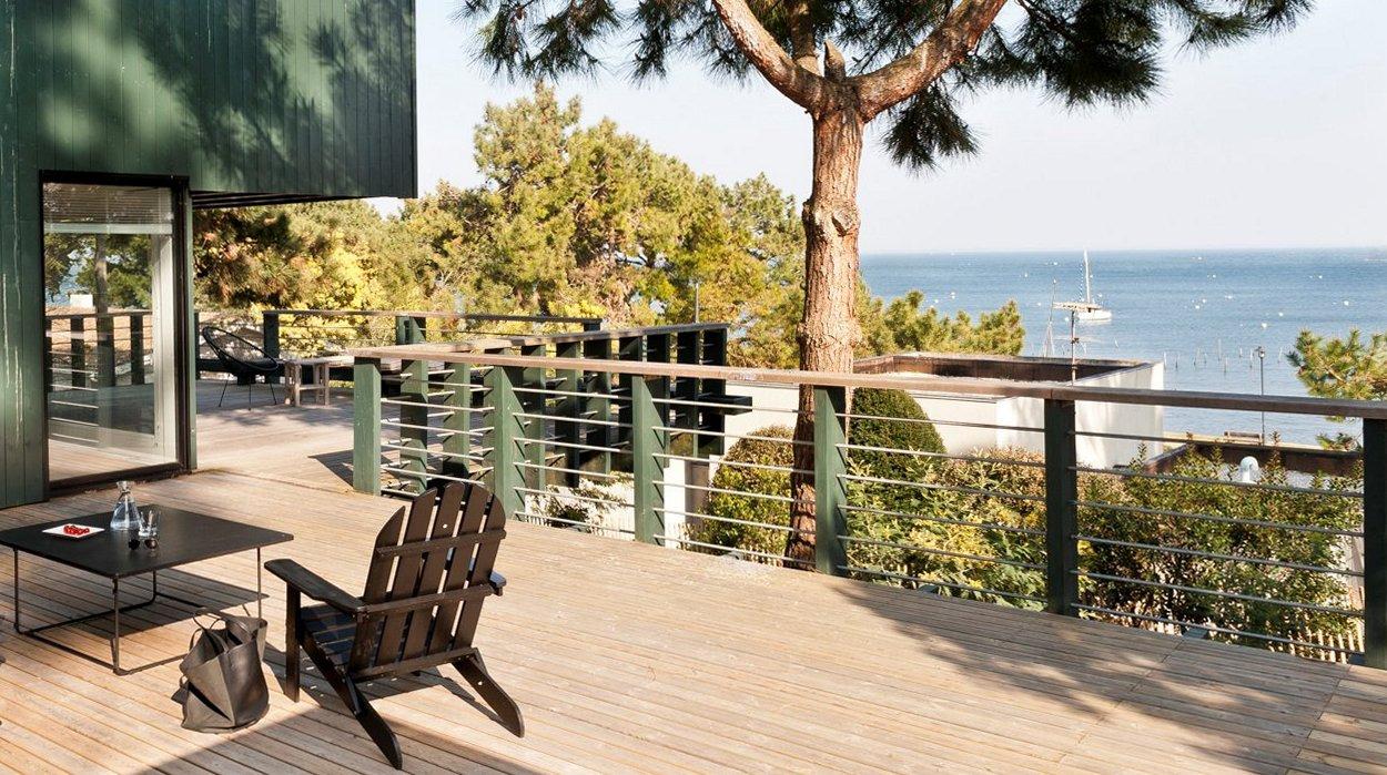 maison d 39 architecte cap ferret. Black Bedroom Furniture Sets. Home Design Ideas