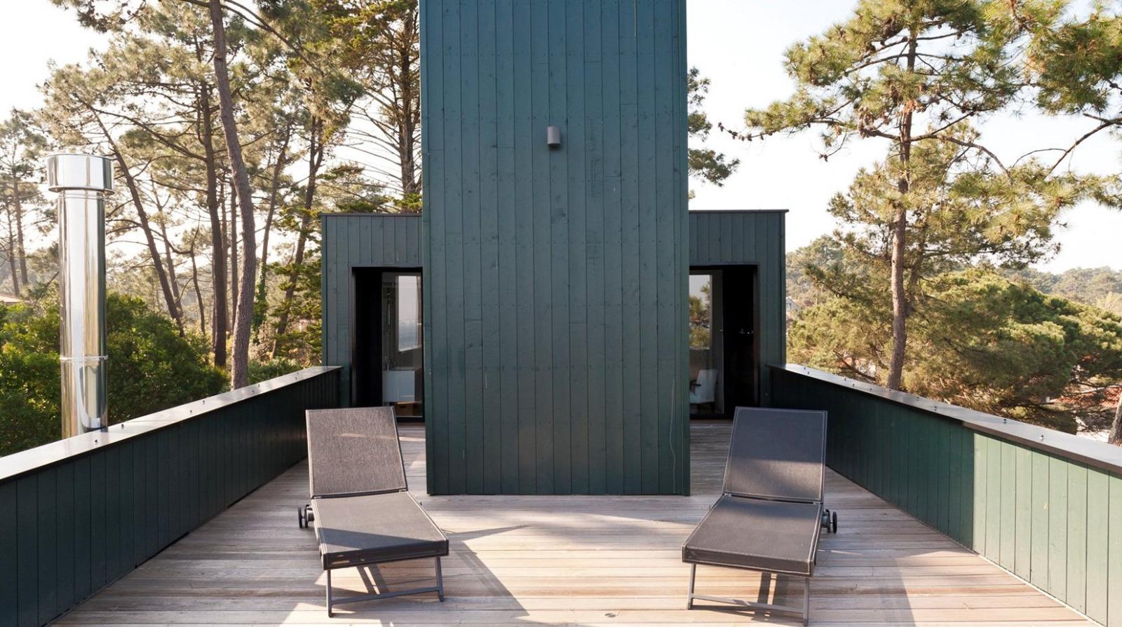 presqu 39 le du cap ferret l 39 herbe maison d 39 architecte r habilit e avec une vue bassin immo. Black Bedroom Furniture Sets. Home Design Ideas