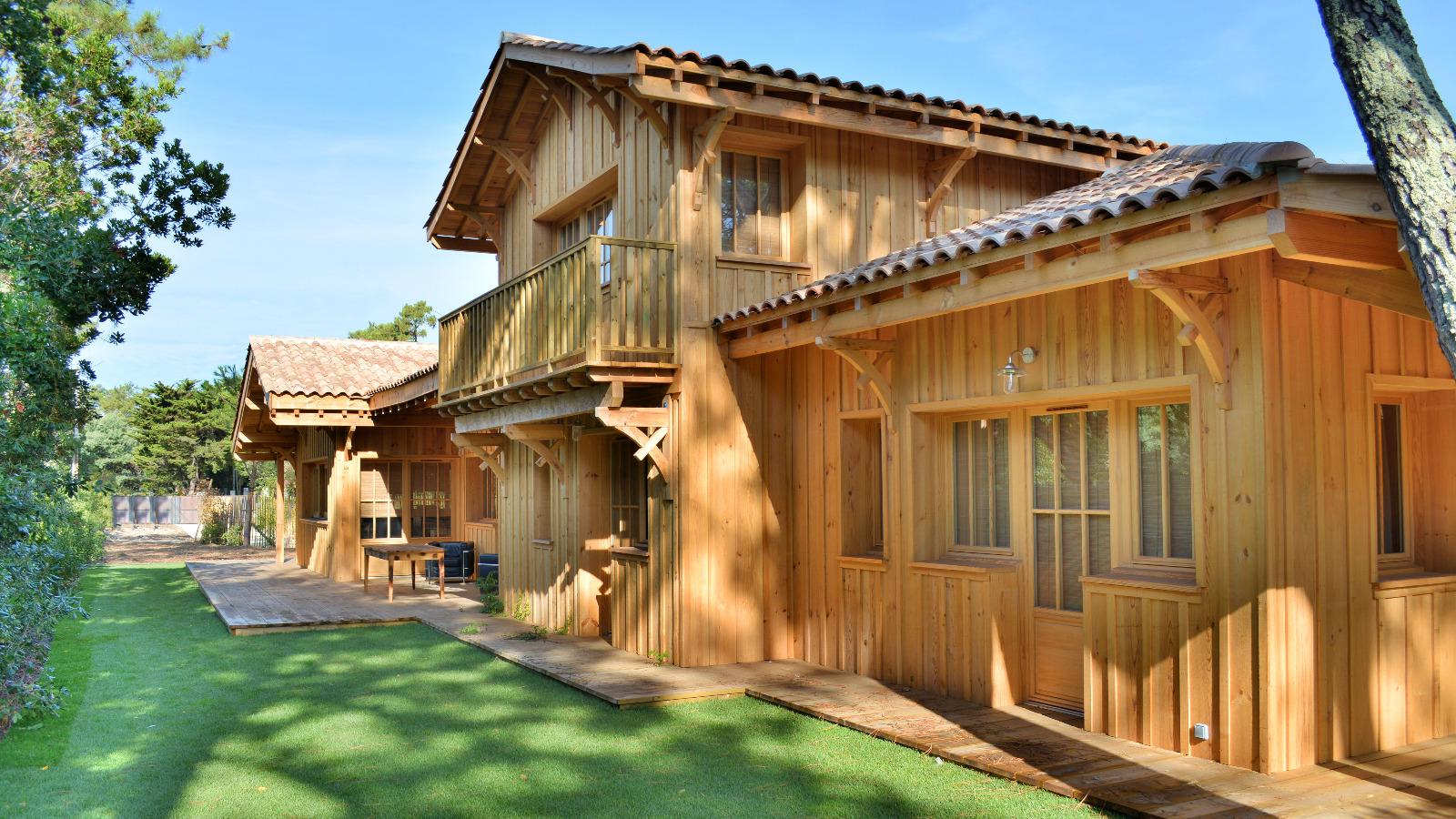 Cap Ferret, Le Phare, villa en bois neuve, plage et  ~ Bareme De Cubage Bois