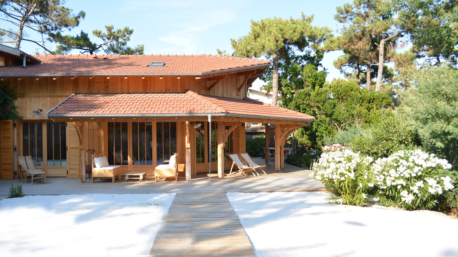 Location cap ferret oc an villa mouette immo prestige for Location immobilier prestige