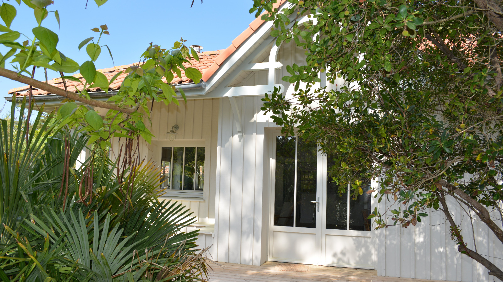 cap ferret 44 hectares villa de style cabane 224 deux pas du bassin immo prestige