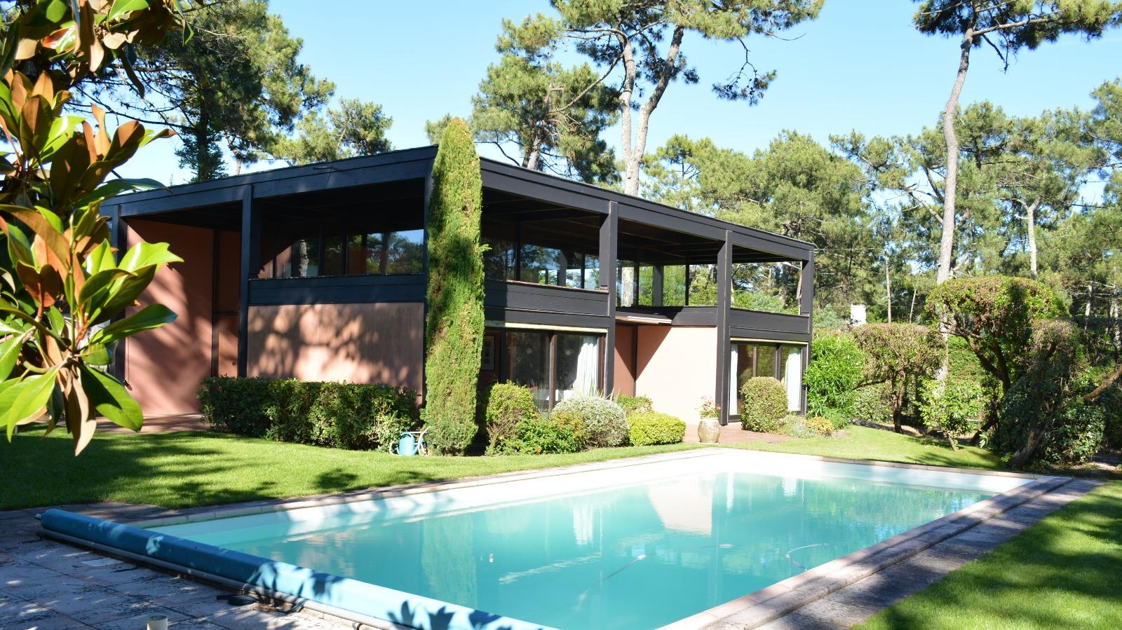 Cap ferret maison avec piscine proche bassin immo prestige for Maison a louer cap ferret avec piscine