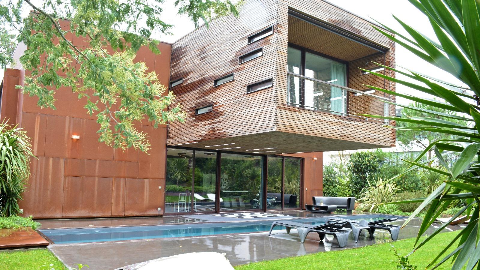 Arcachon, Villa d'architecte exceptionnelle avec piscine