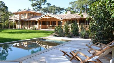 Location cap ferret phare villa courlis avec piscine - Du bois dans ma maison ...