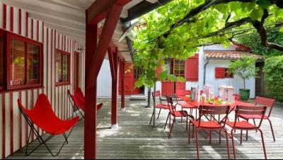 Location, Cap Ferret centre, Villa Atchiki avec ses dépendances