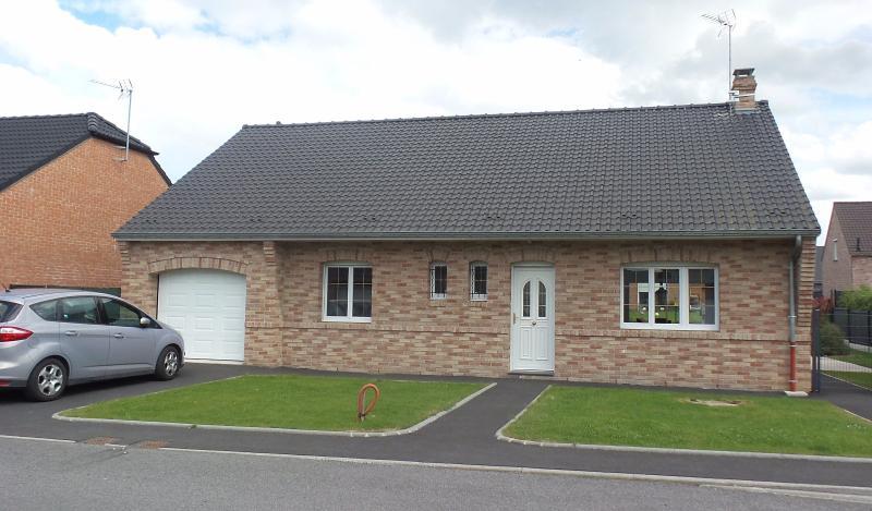 Vente SAULTAIN Superbe plain-pied année 2013, 3 chambres, jardin, garage