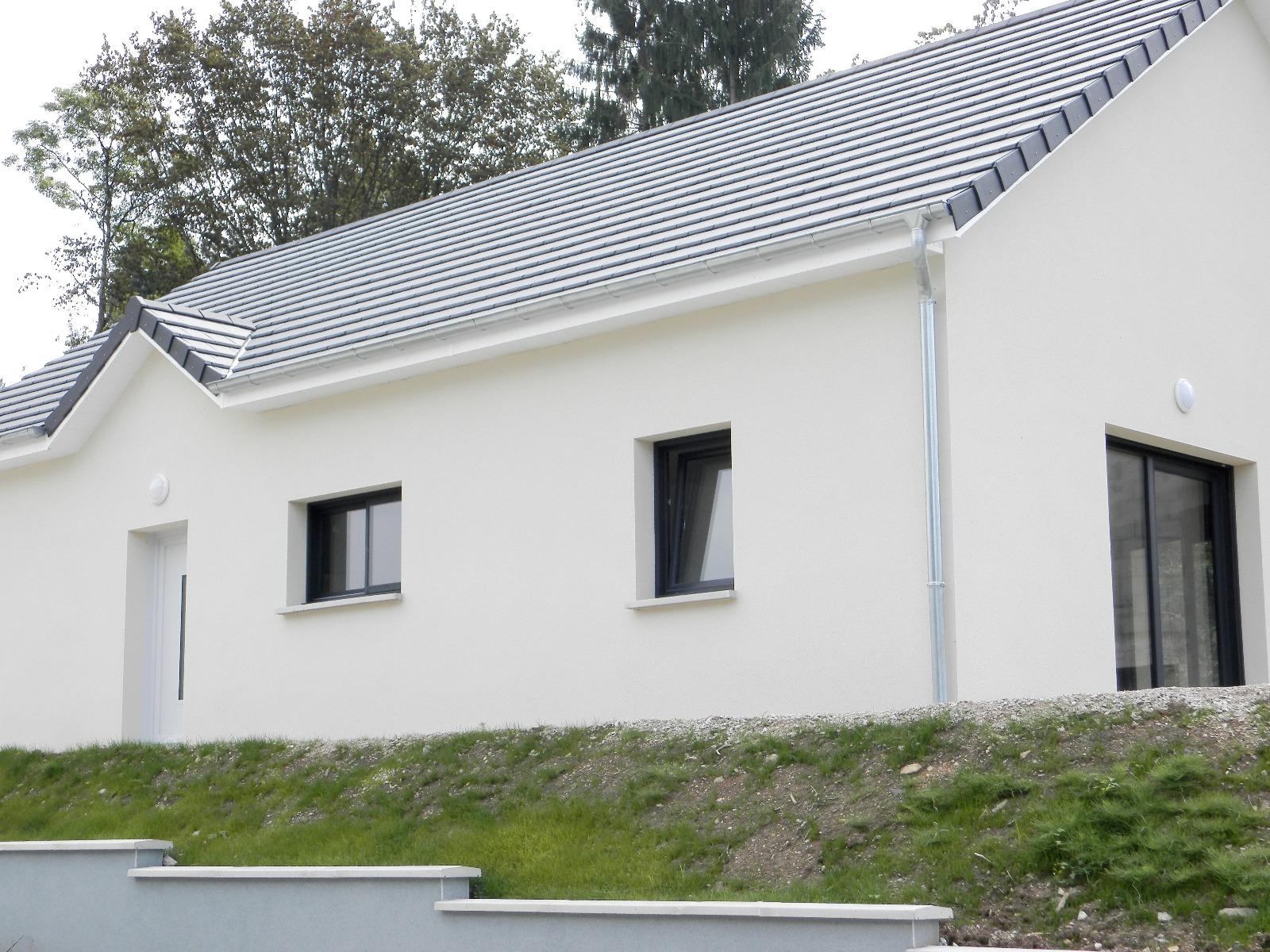 Vente lons le saunier 39 maison plain pied 2016 de 113 m sur terrain 536 m 3d immobilier - Frais de notaire achat garage ...