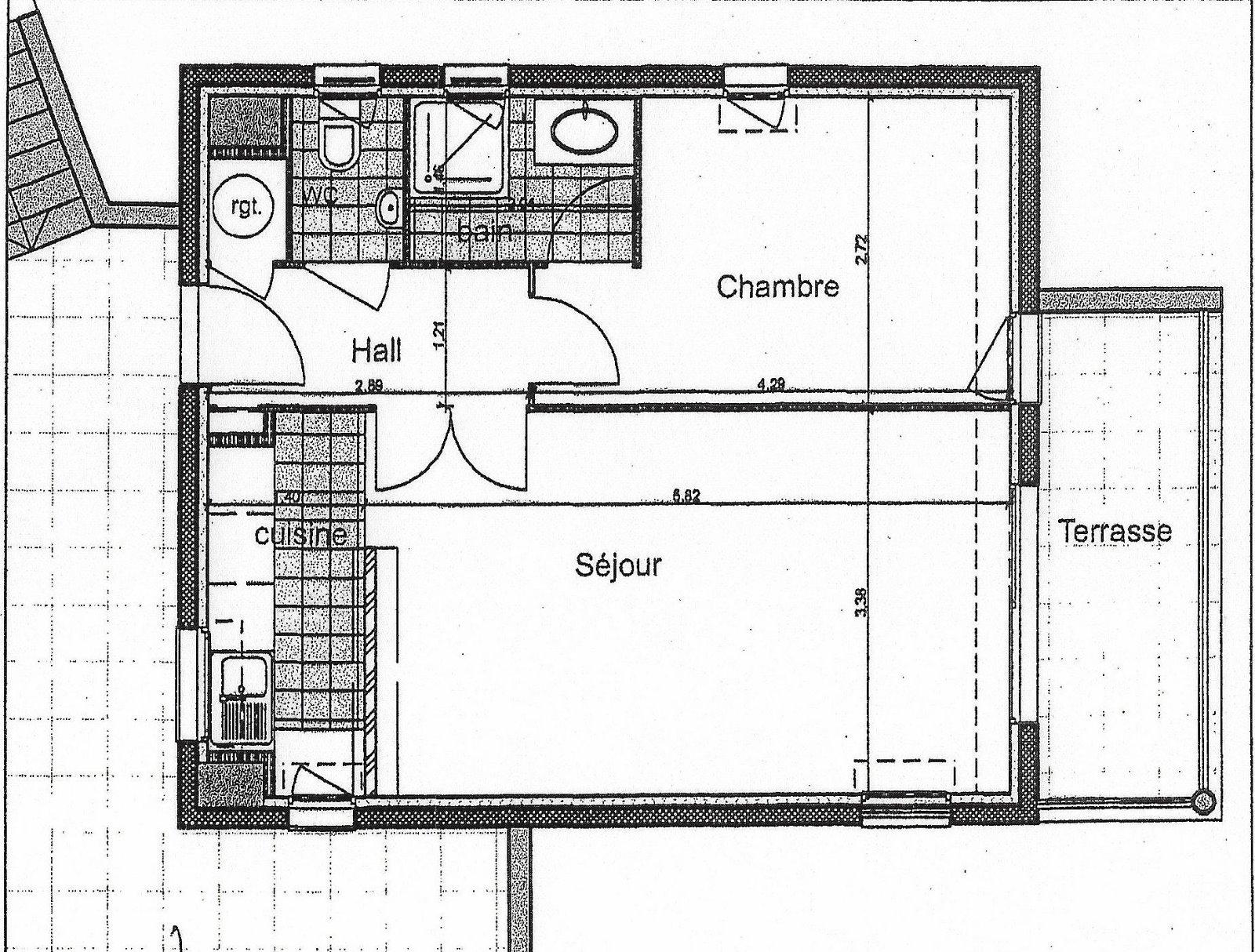Mandelieu 06 alpes maritimes vendre appartement 43 m2 terrasse vue d gag e garage cave - Plan appartement 120 m2 ...