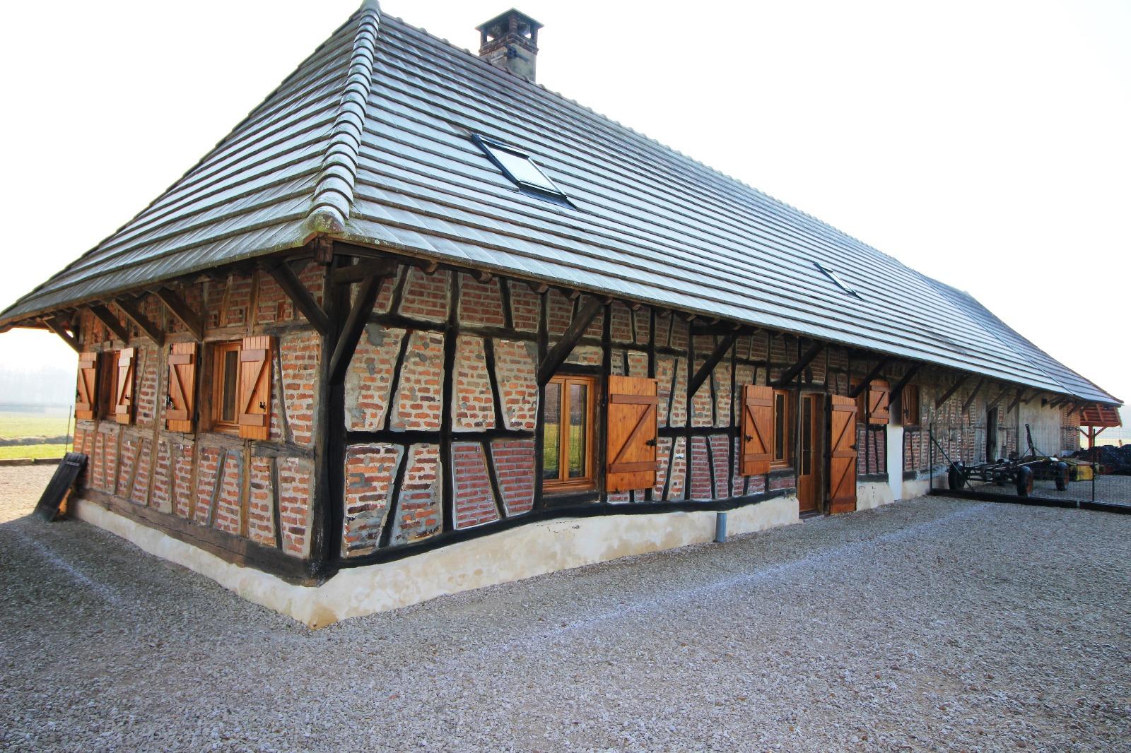 Mervans 71 sa ne et loire vendre ferme bressane r nov e sur 6 hectares de terrain 3d - Frais de notaire achat garage ...