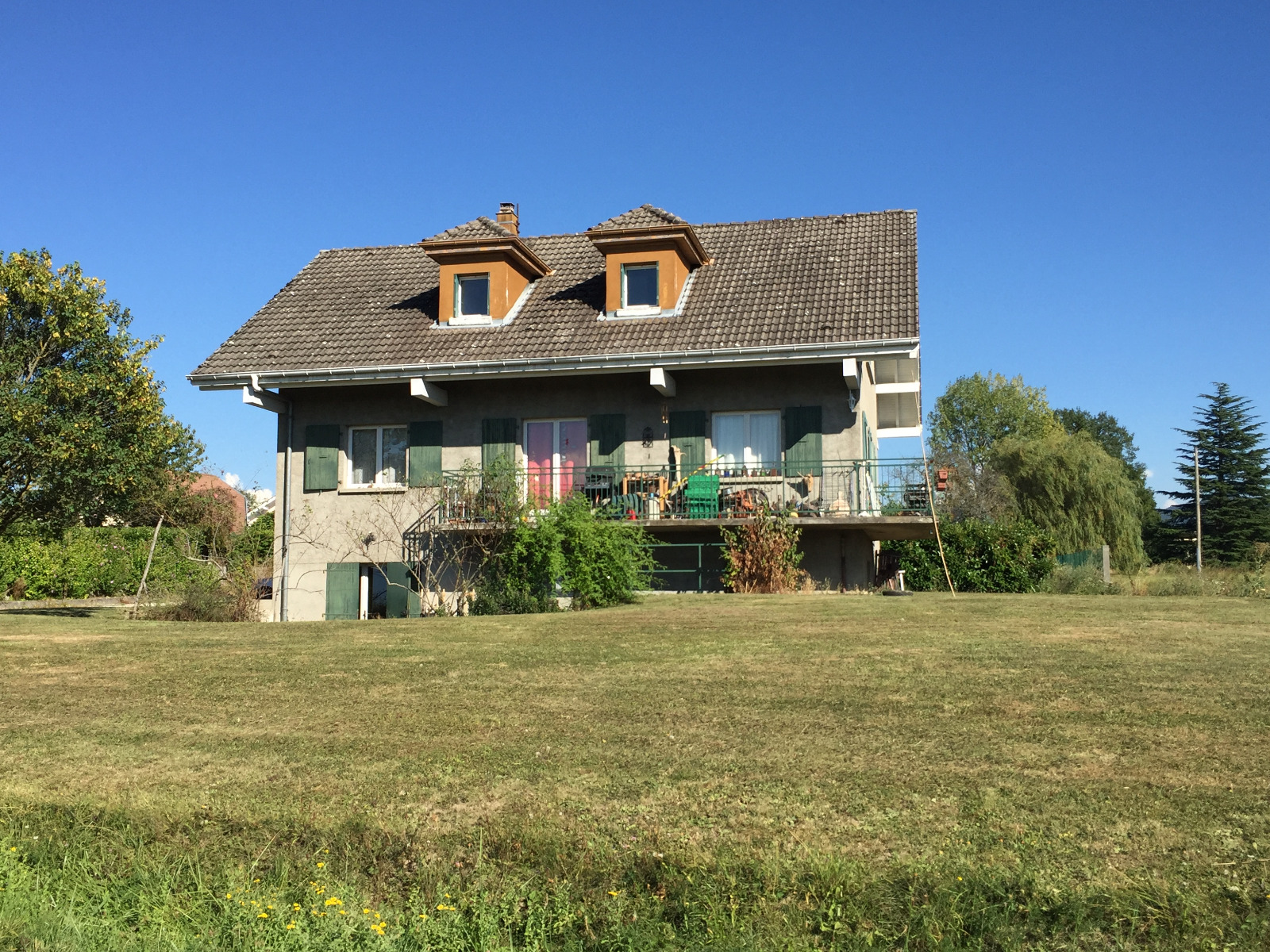 Investisseur secteur douvaine 74140 vends maison for Calcul frais de notaire garage