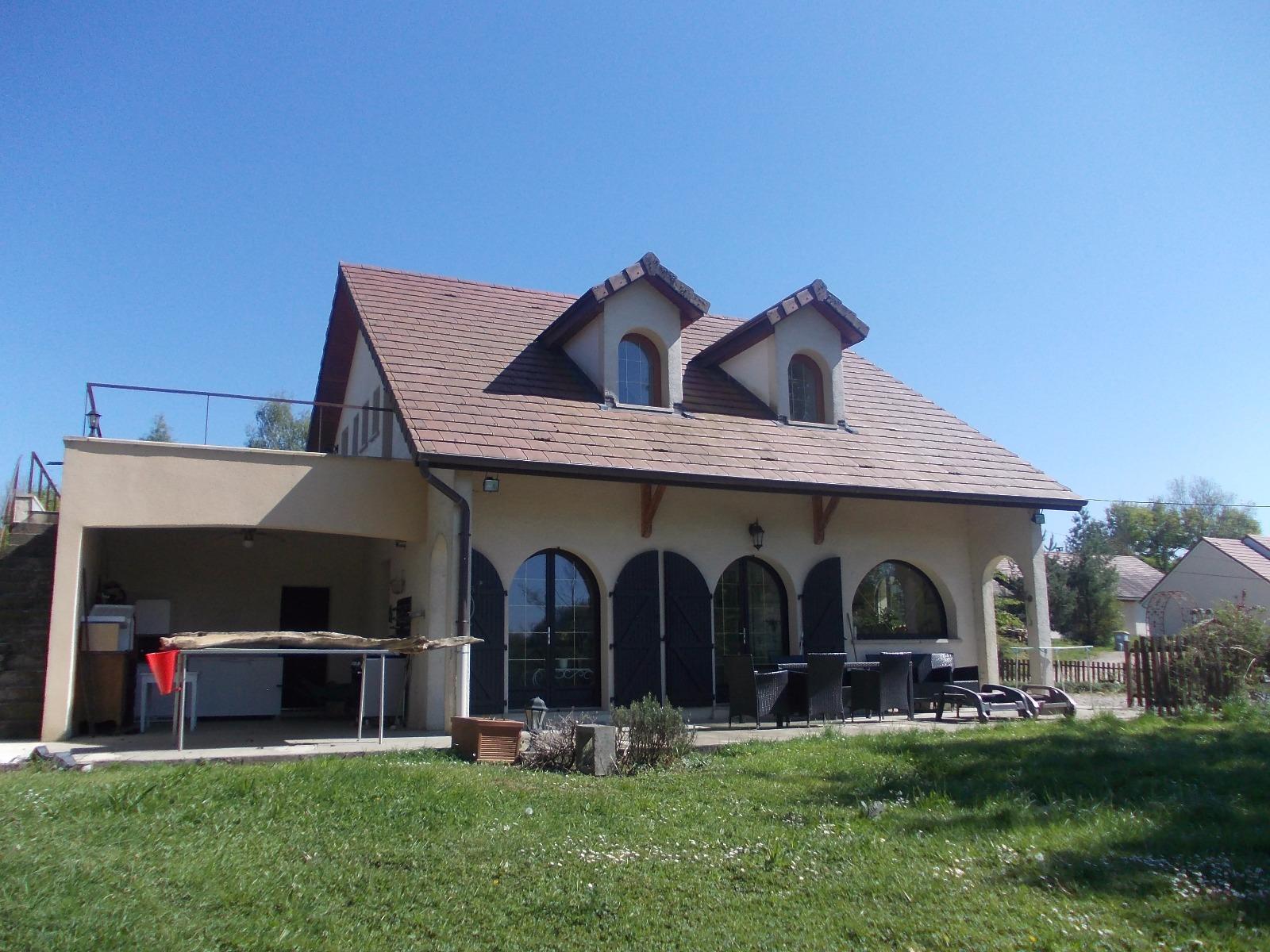 Chaussin maison a vendre de 8 pieces sur 7800 m 3d immobilier - Frais de notaire achat garage ...