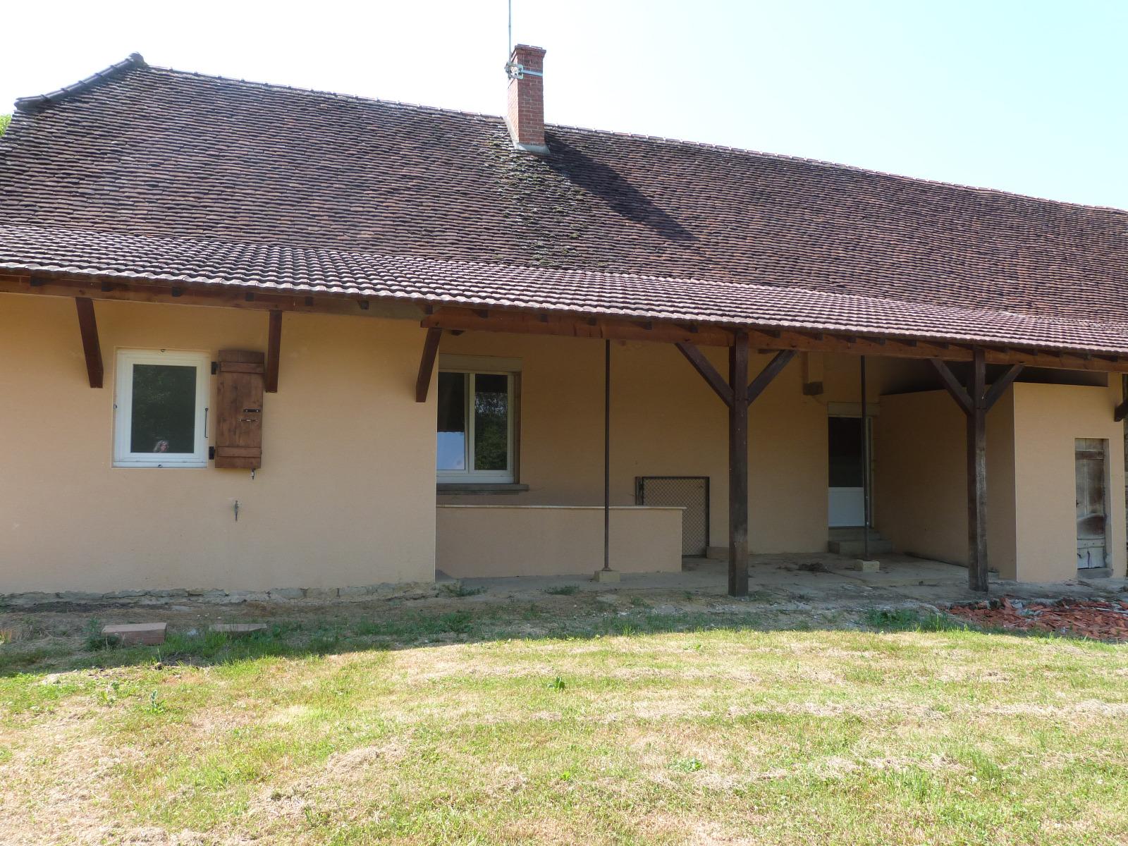Louhans 71500 12km vends maison plain pied habitation for Extension immobilier