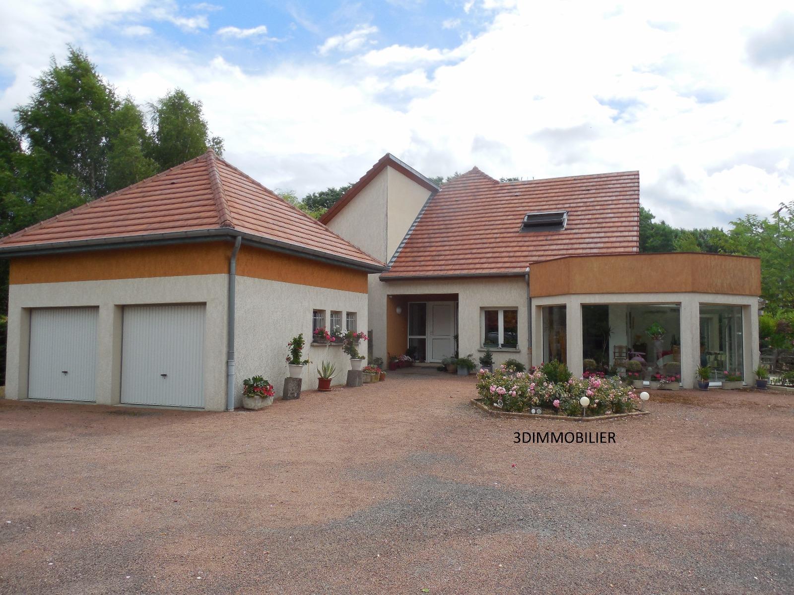 Dole 39100 a vendre maison contemporaine de 3 chambres de 260 m piscine chauff e garage - Frais de notaire achat garage ...