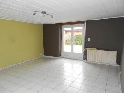 Vente proche BLETTERANS (39), maison de plain-pied, 65 m² sur terrain de 757 m², SEJOUR 25 m²