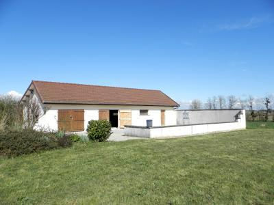 Vente PIERRE DE BRESSE (71), maison 145 m² (1994) et dépendances, sur terrain 4000 m², DEPENDANCE 110 m² + garage