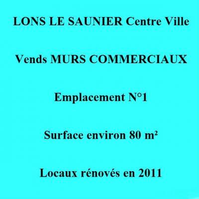 Local commercial LONS LE SAUNIER
