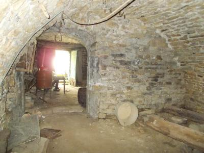 Vente VOITEUR (39210), maison en pierre à rénover 145 m² environ, sur terrain 1181 m², CAVE 17 m²