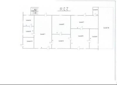Vente LOUHANS (71), ferme-manoir 16ième siècle, de 215 m² env. sur terrain 6736 m², PLAN RDC
