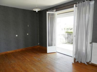 Vente proche BLETTERANS (39), maison de 100 m² + garage,  sur terrain 991 m², SALON 17.60 m²