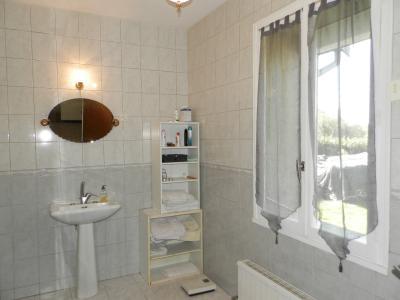 Vente proche BLETTERANS (39), maison de 100 m² + garage,  sur terrain 991 m², SALLE D